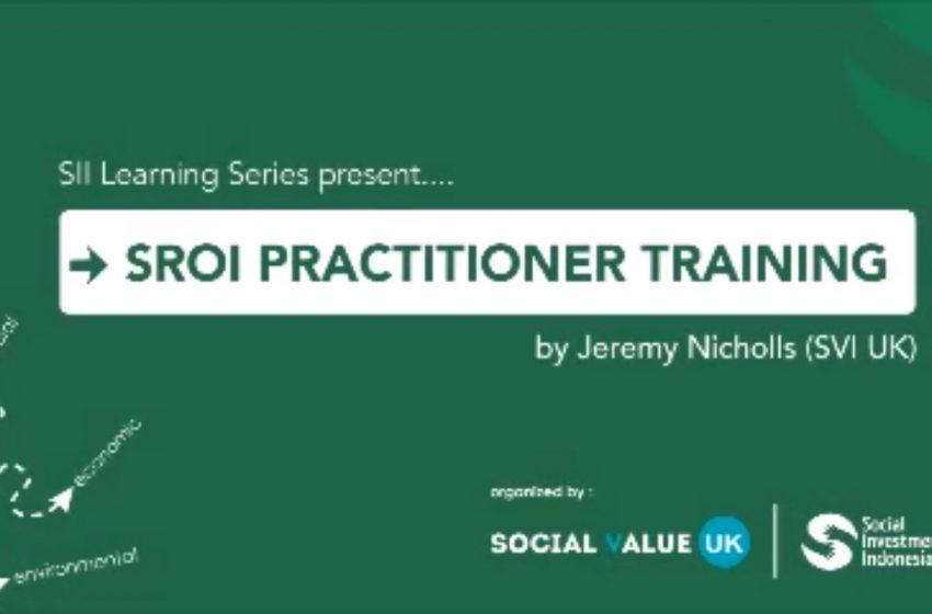 Social Return On Investment Practitioner Training