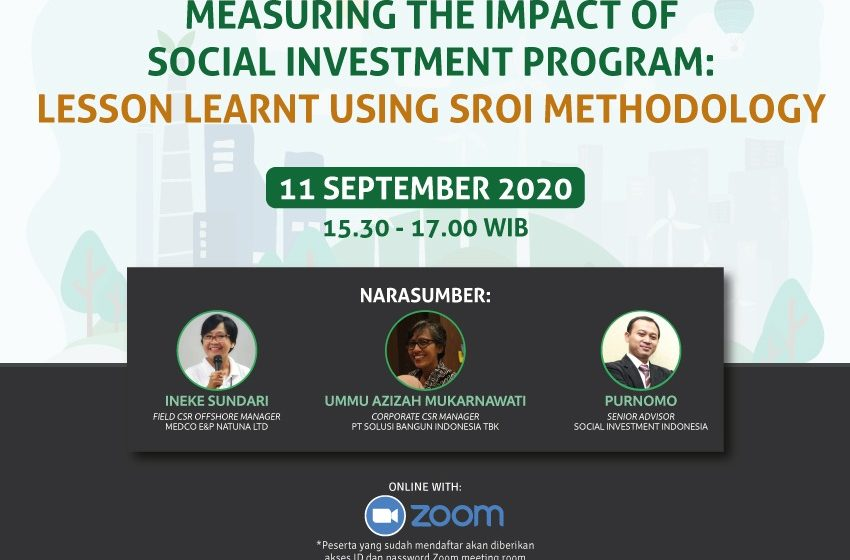 Measuring The Impact of Social Investment Program